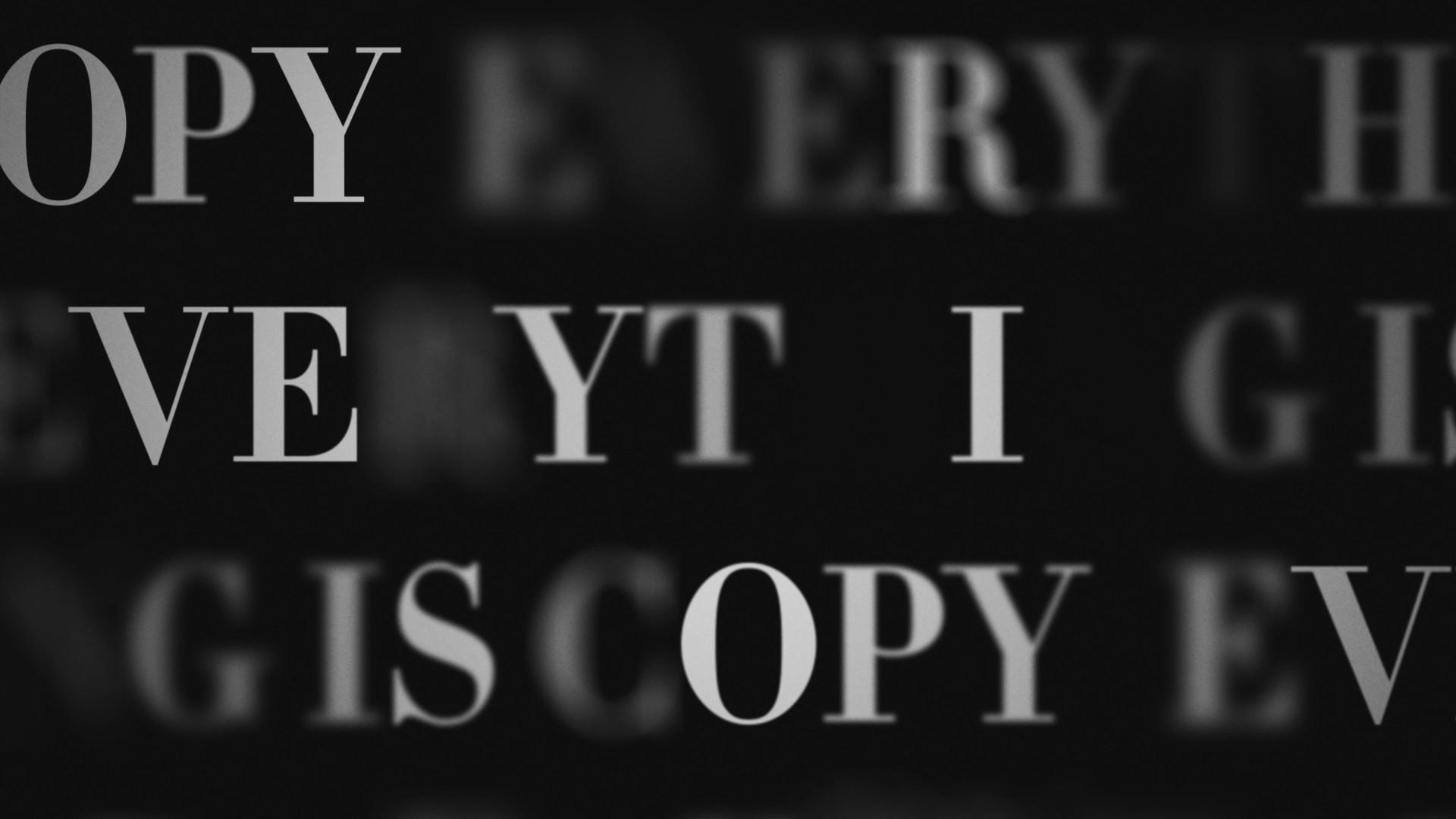 HBO Films: Everything is Copy